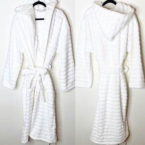 Sleep The White Company Cotton Bath Robe Large